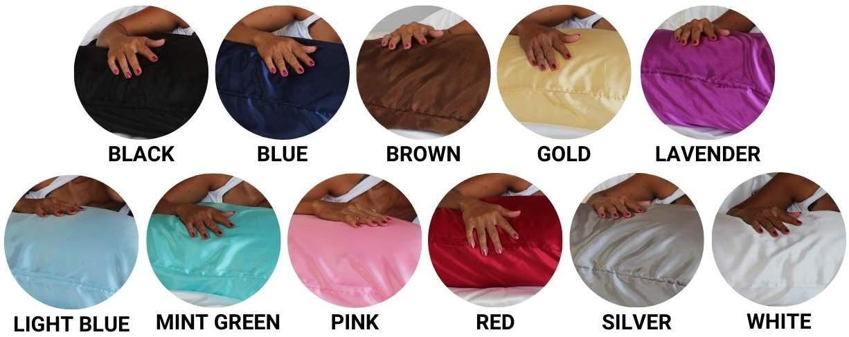 best satin pillowcase online
